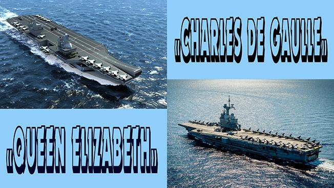 «Queen Elizabeth» vs «Charles de Gaulle»: Ты слишком много в доках, все тебя успели позабыть