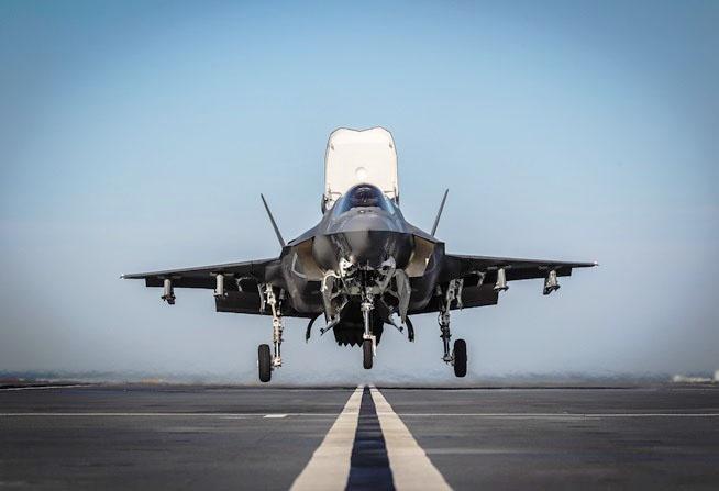 Lockheed Martin F-35B.