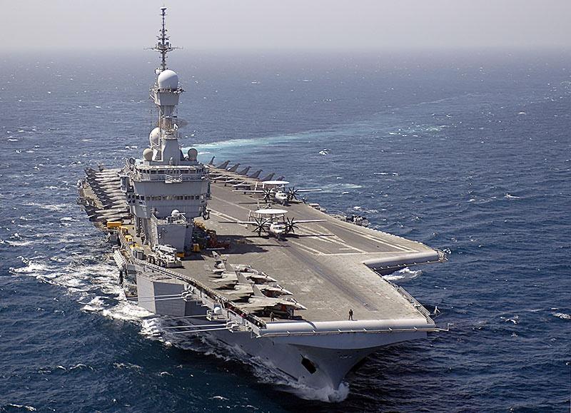 По инсайдерской информации, теплопеленгаторы уже стоят на борту авианосца «Шарль Де Голль».