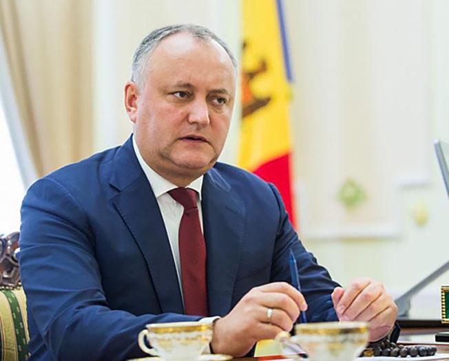 Игорь Додон.