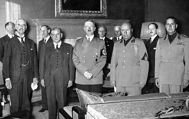 Мюнхенский сговор развязал руки фюреру для начала войны против всего мира.