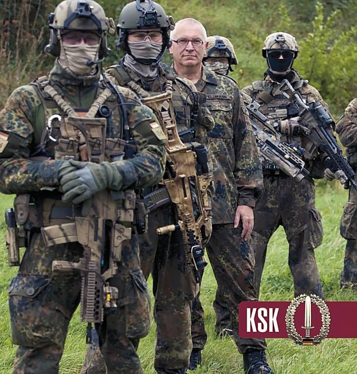 Kommando Spezialkraefte (KSK) - секретный спецназ армии ФРГ.
