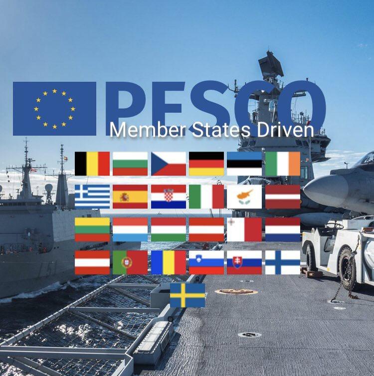 С расширением программы PESCO идея создания армии ЕС начнет реализовываться.