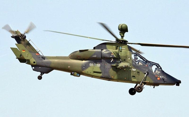 Боевой вертолет Tiger Mark III.