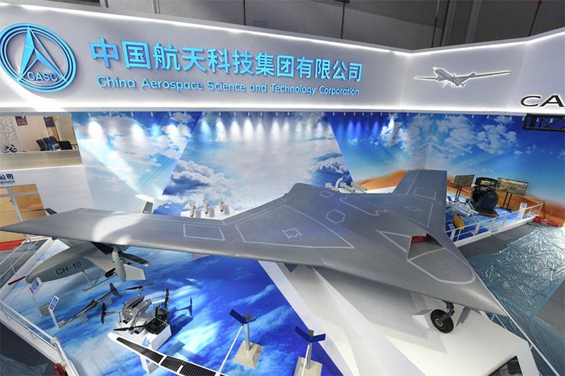 CH-7 на авиакосмическом салоне в Чжухае.