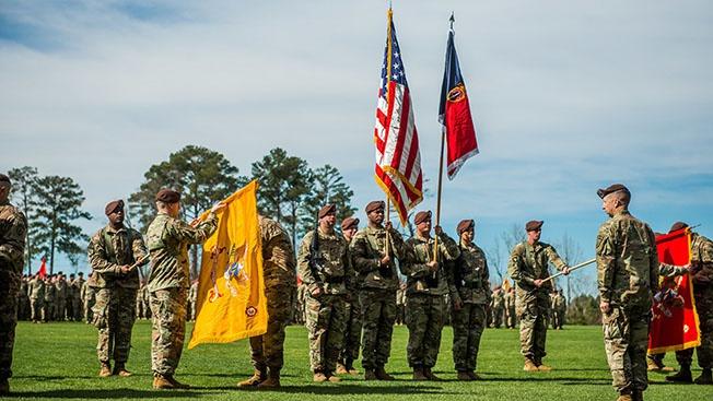 1-я бригада поддержки сил безопасности (Security Force Assistance Brigade - SFAB)