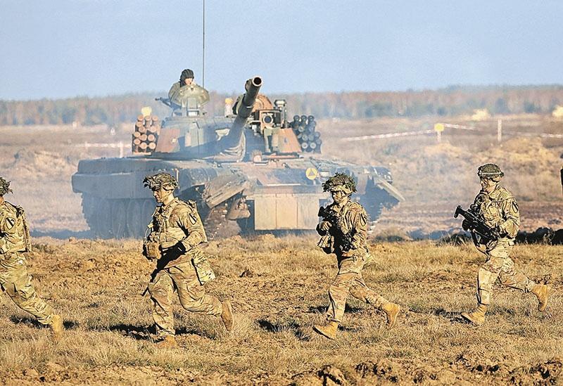 Учения НАТО прроходят в Европе и ни разу в Америке.