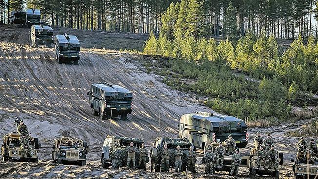 Учения НАТО.