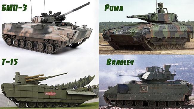 БМП-3 и Т-15 vs БМП «Пума» и «Брэдли»: на прохоровском поле Третьей мировой
