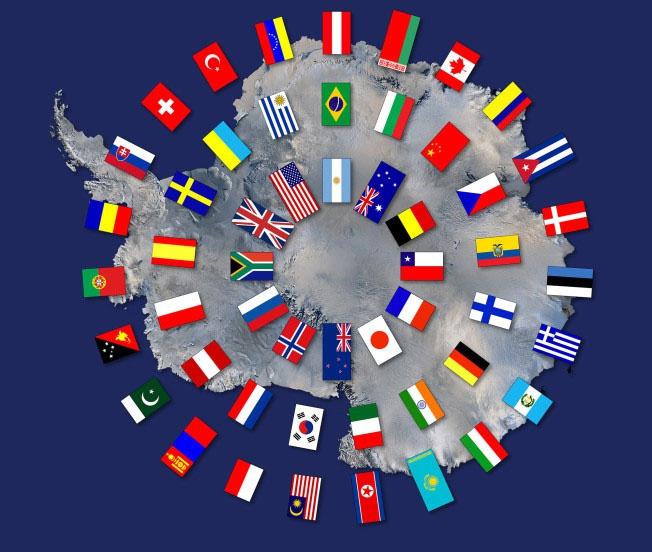«Договор об Антарктике» предусматривает использование региона только в мирных и научных исследованиях.
