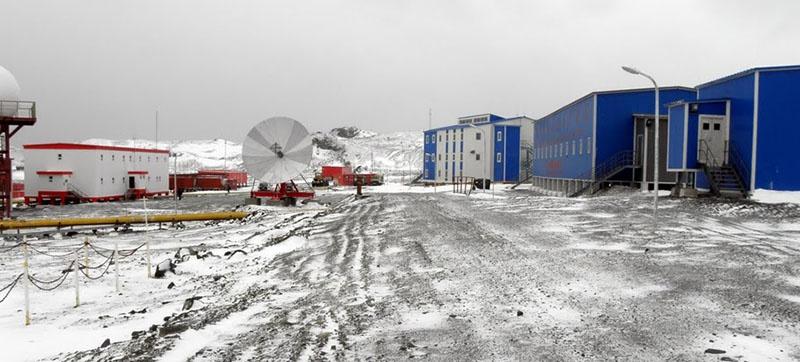 Первая китайская антарктическая станция «Чань-чэнь» или «Великая Стена».