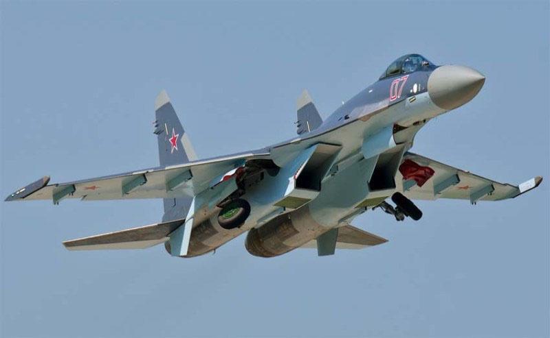 Су-35 в Сирии.