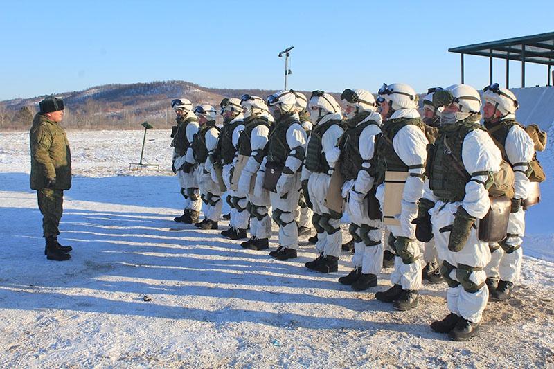 В училище готовят будущих офицеров к прохождению службы на арктических рубежах.