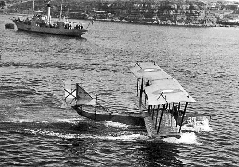 Летающая лодка М-5.