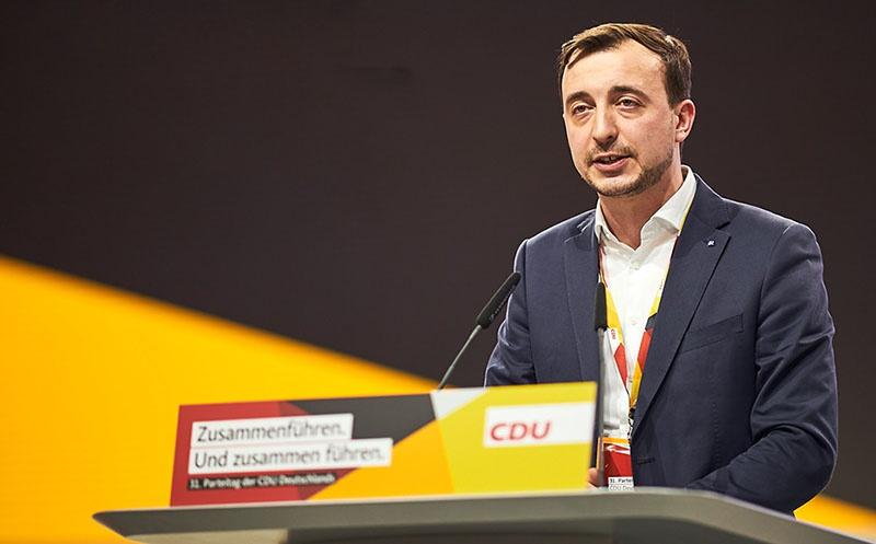 В ХДС на пост генсека партии избран 33-летний Пауль Цимиак.