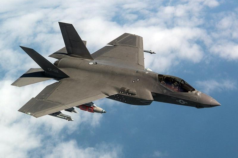 Истребитель F-35.