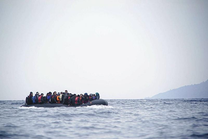 В 2018 году в Европу уже прибыли по морю более 109 тыс. беженцев.
