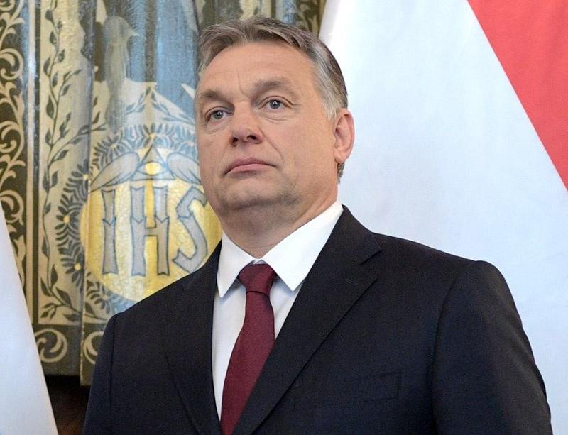 Лидер правых евроскептиков - Виктор Орбан.