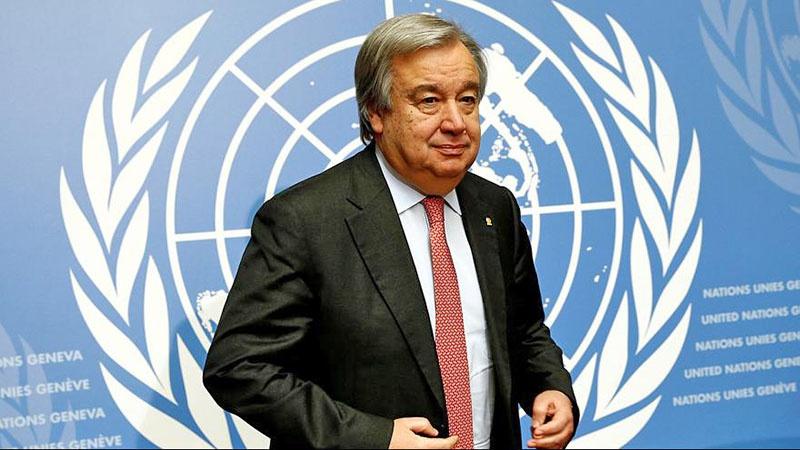 Генсек ООН Антониу Гутерреш.