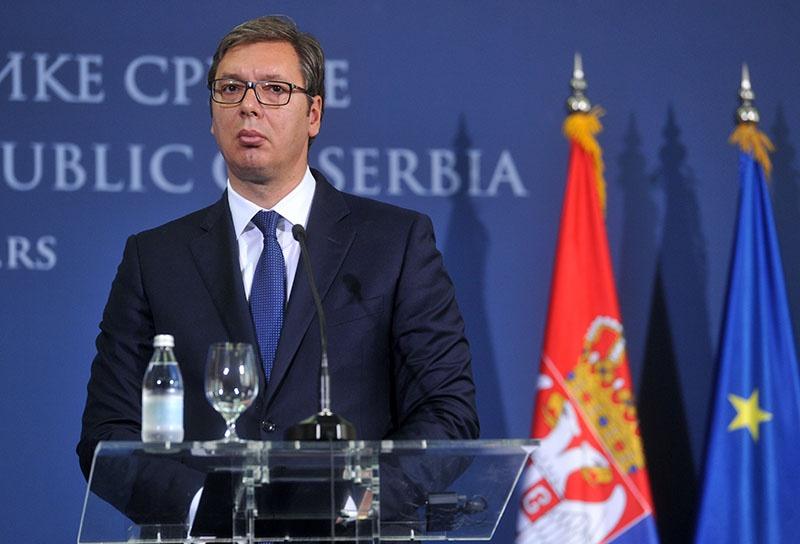 Президент Сербии Александр Вучич.
