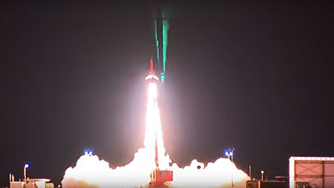 Удачный запуск HyShot V (HIFiRE 4) в 2010 году.
