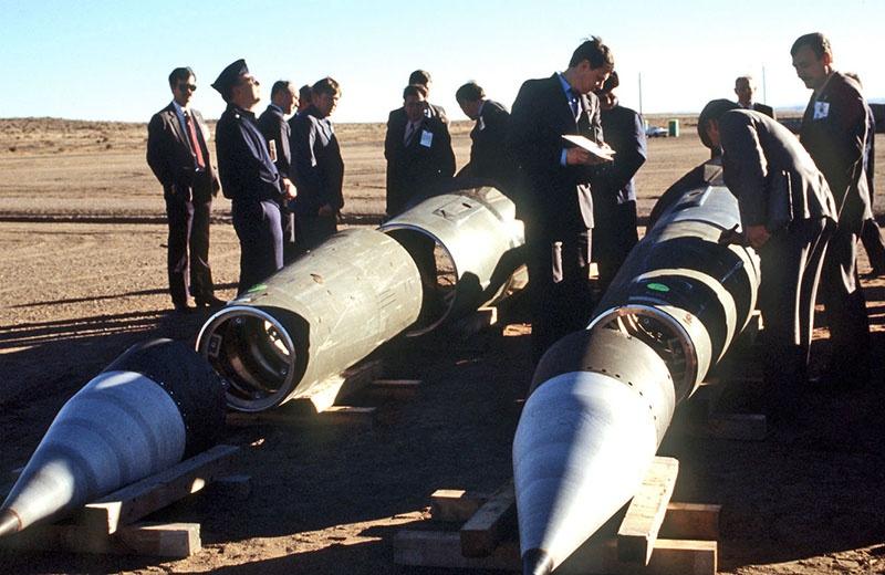 Уничтожение ракет по ДРСМД.