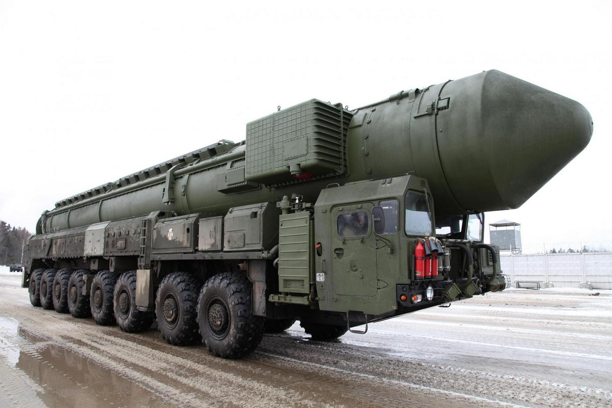 Баллистическая ракета РС-26.