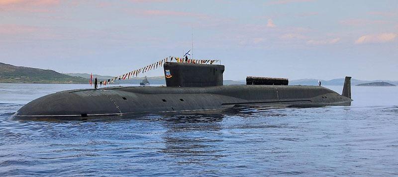 Ракетная подводная лодка стратегического назначения «Юрий Долгорукий».