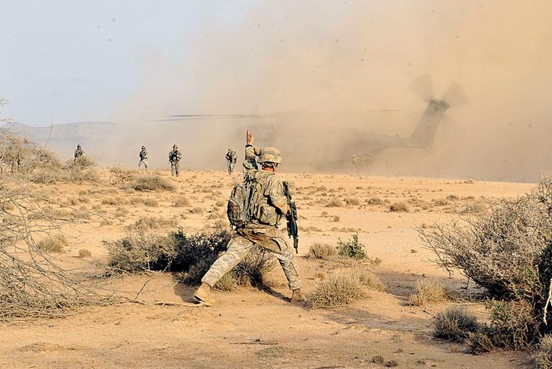 Спецназ США в Сомали.
