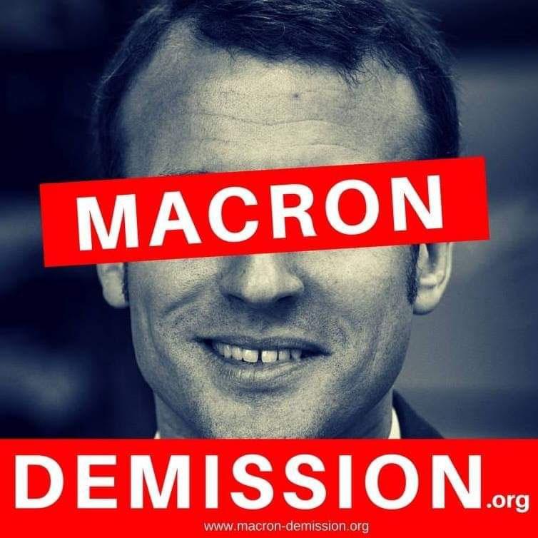 «Макрон - в отставку!»