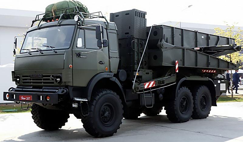 ПП-2005 на базе автомобиля КамАЗ-63501.