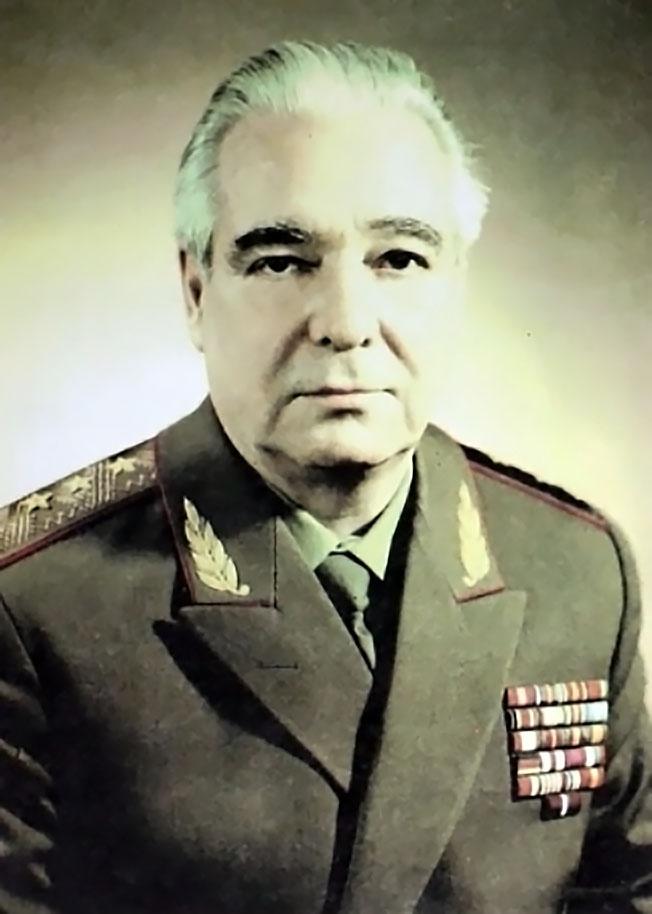 Генерал-полковник В.Ф. Грушко.