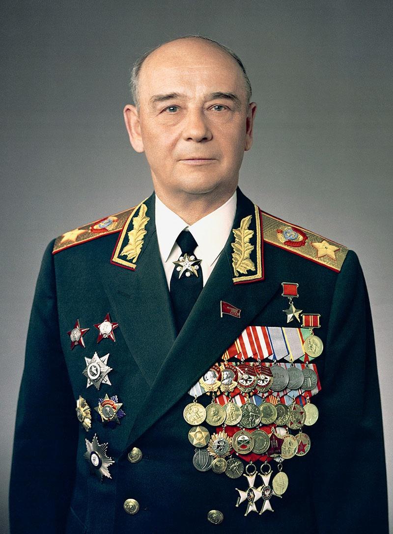 Маршал Сергей Леонидович Соколов.