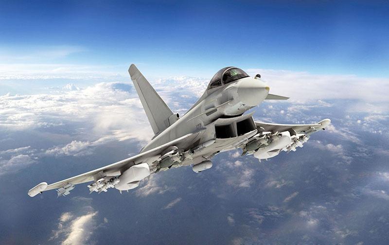 Airbus Eurofighter Typhoon.
