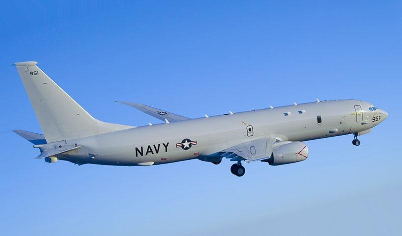 Самолет P-8A «Посейдон».
