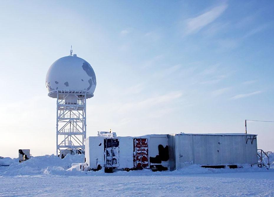 Трассовый радиолокационный комплекс (ТРЛК) «Сопка-2».