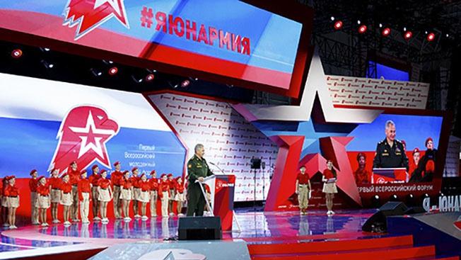 Дело на миллион: в России стартовала юнармейская эстафета добра