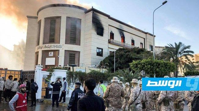Нападение на здание ливийского МИД в Триполи.