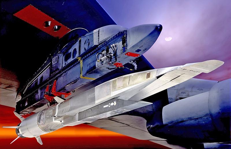 Гиперзвуковая ракета Х-51А Waverider.