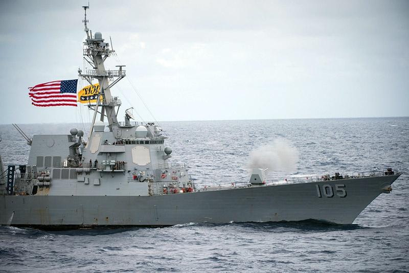 USS Dewey.