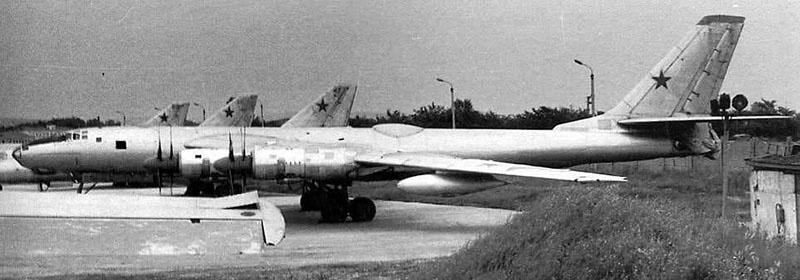 Отечественная летающая лаборатория Ту-95ЛАЛ.
