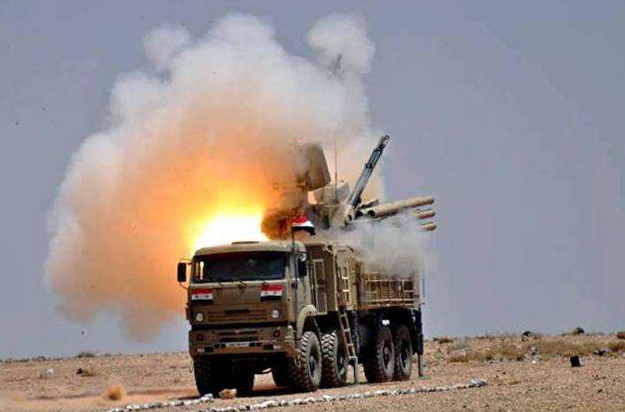 Главное поле боя «Панциря-С1» - это Сирия.