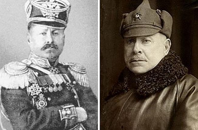 Командующий 6-й армией РККА бывший генерал-майор Русской императорской армии Александр Самойло