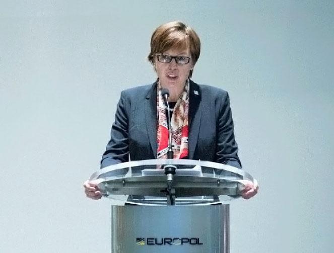 Руководитель Европола Катрин Де Болле.