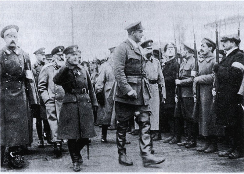 Генерал-лейтенант Владимир Марушевский и генерал Уильям Эдмунд Айронсайд.