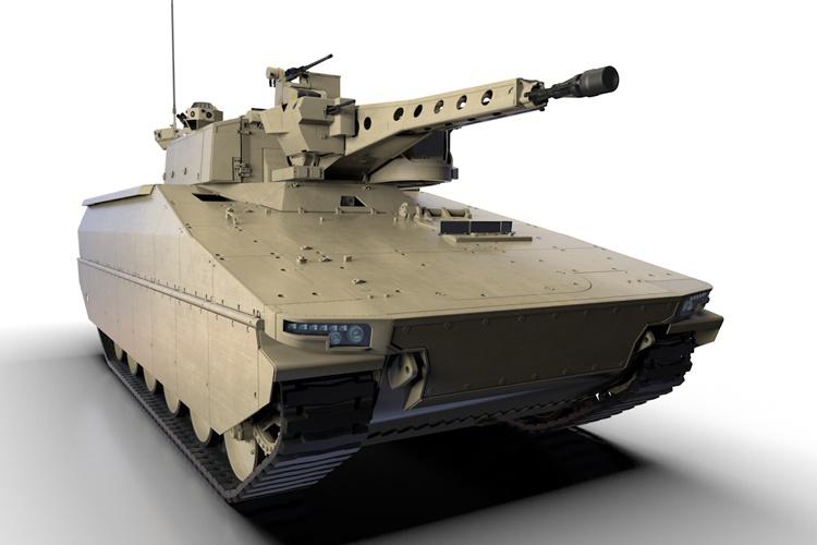 БМП Lynx оснащен управляемым боевым модулем Lance с 35-мм автоматической пушкой.