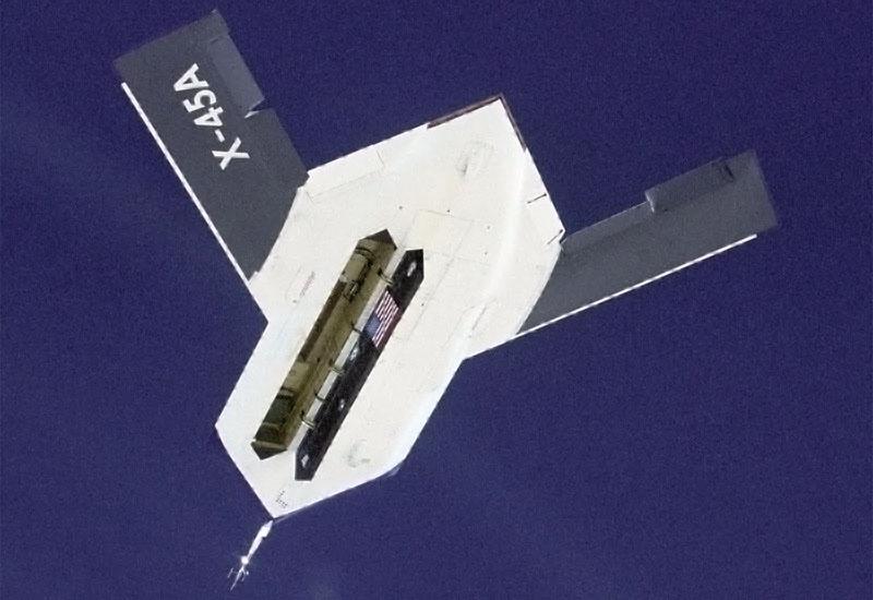 Boeing X-45.