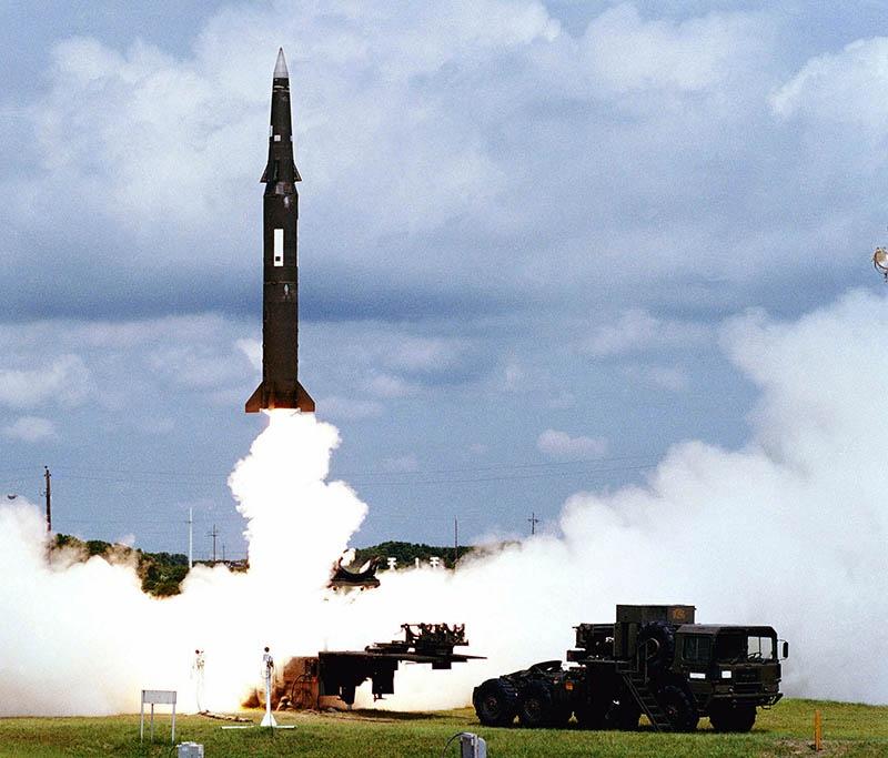 Американская ракета «Першинг-2».