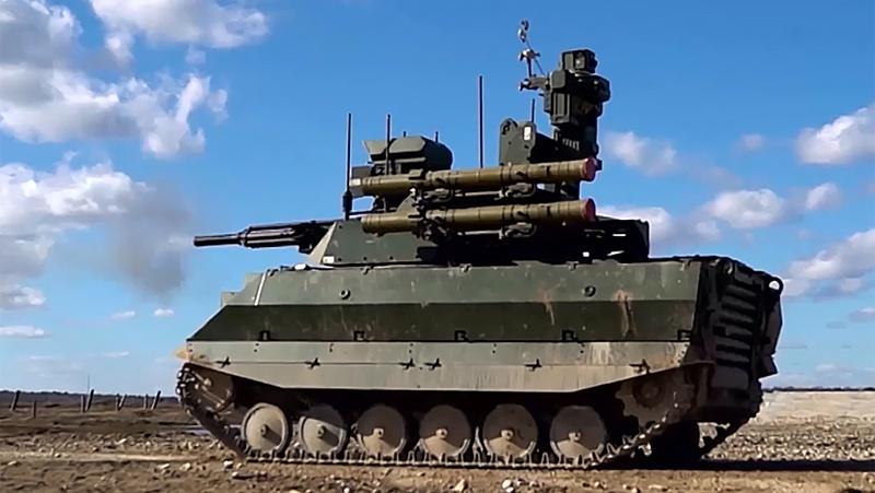 «Уран-9» впечатлил даже американских военных.