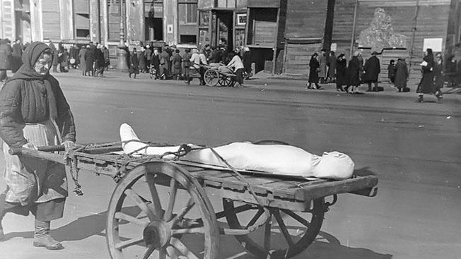 Блокада Ленинграда: чудовищный эксперимент над людьми в условиях голода,  холода, авиационных бомбежек и артиллерийских обстрелов